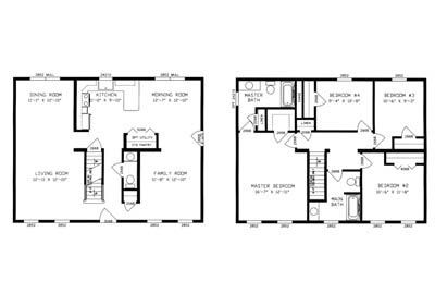 Homestead V Floor Plan