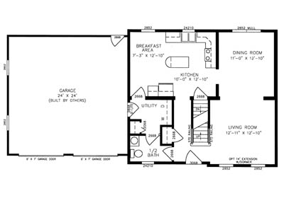 Keystone Floor Plan
