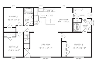 Addison Floor Plan