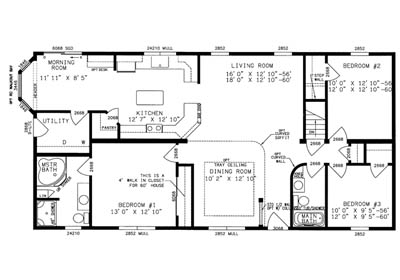 Bristol Floor Plan