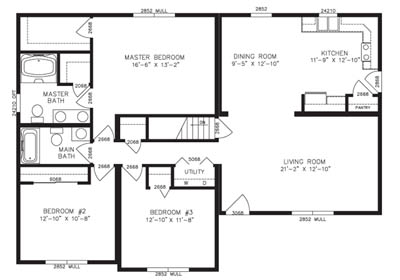 Farmington Floor Plan