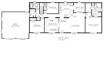 Richland Floor Plan